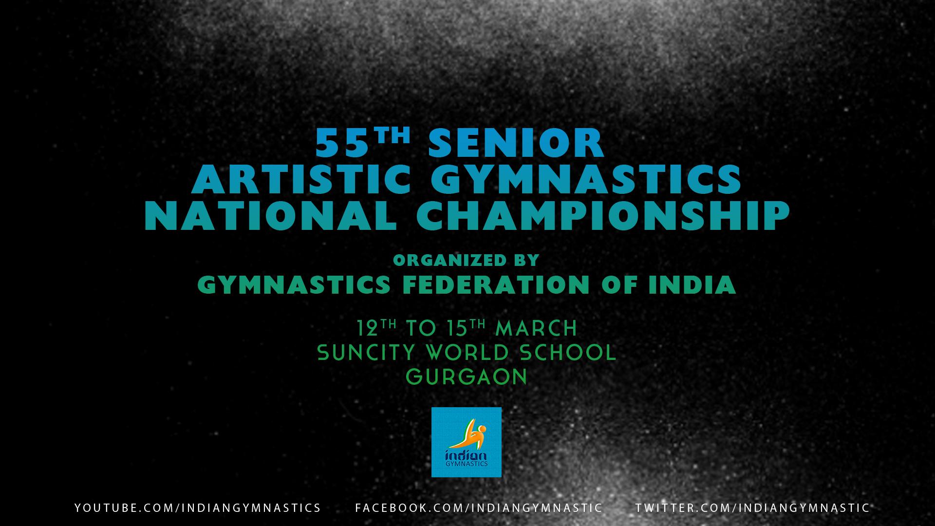55th Sr. Artistic Gymnastics National Championship | Gurgaon 2016