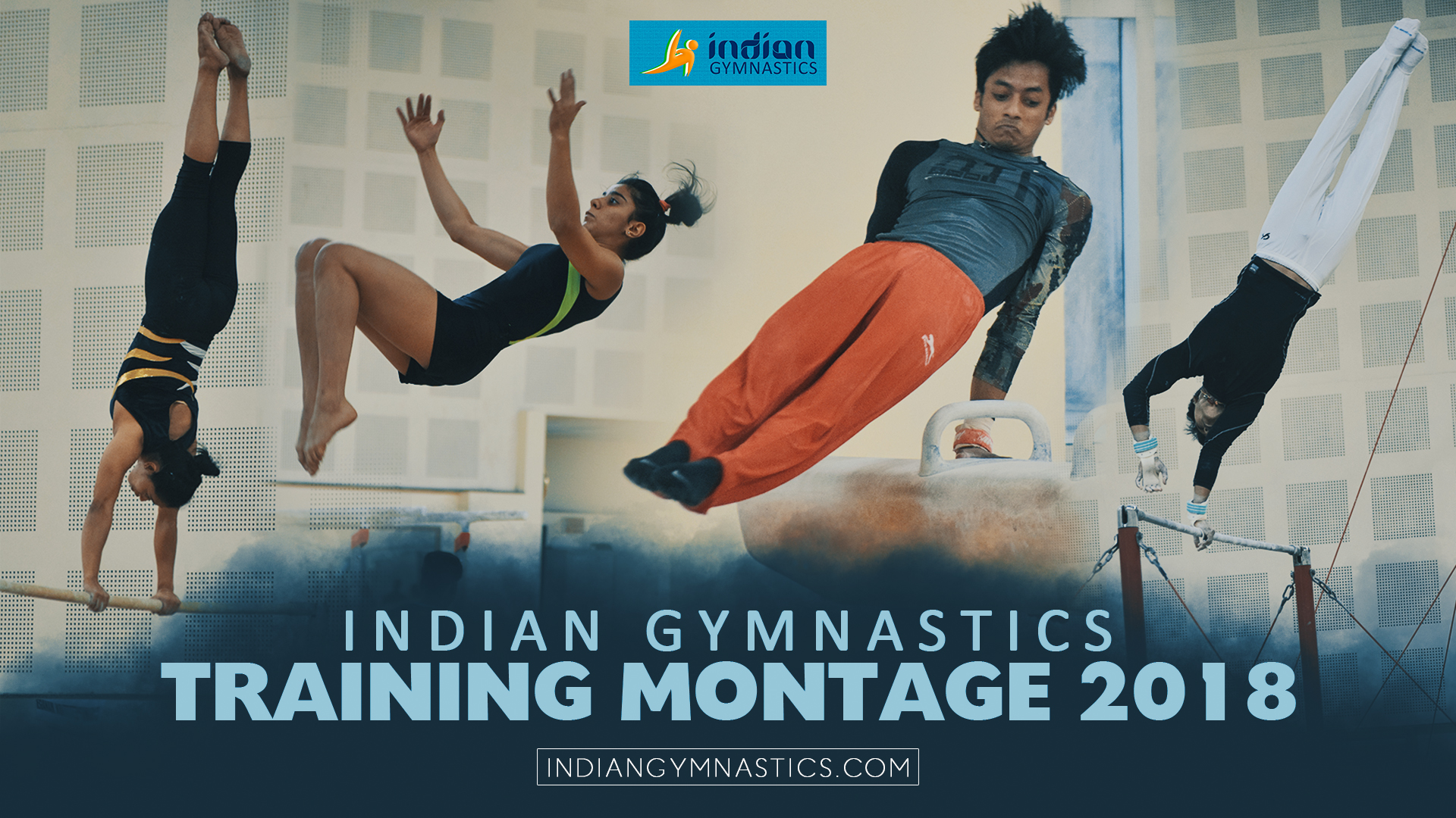 Indian Gymnastics Training Montage 2018