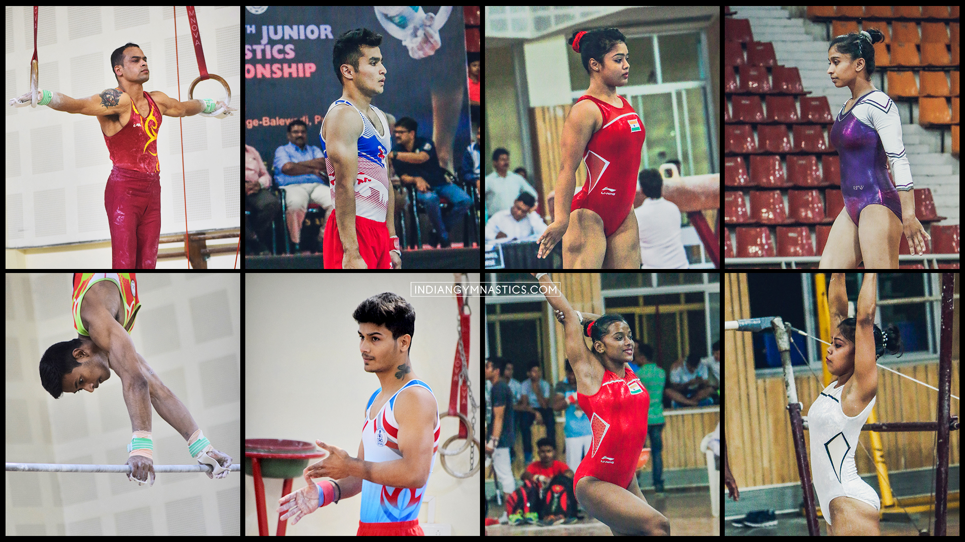 Indian Team for 8th Senior Artistic Gymnastics Asian Championship 2019
